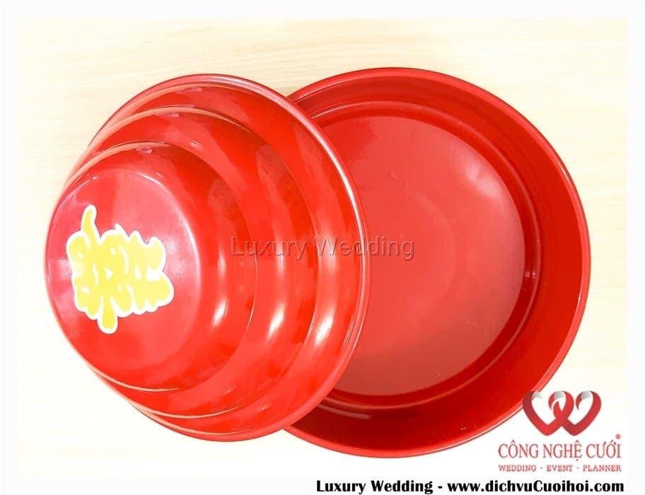 Quả đỏ nhôm truyền thống