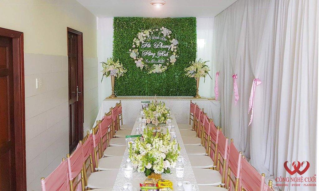 Trang trí nhà lễ đính hôn