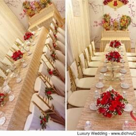 Trang trí gia tiên - Luxury Wedding - dịch vụ cưới hỏi trọn gói