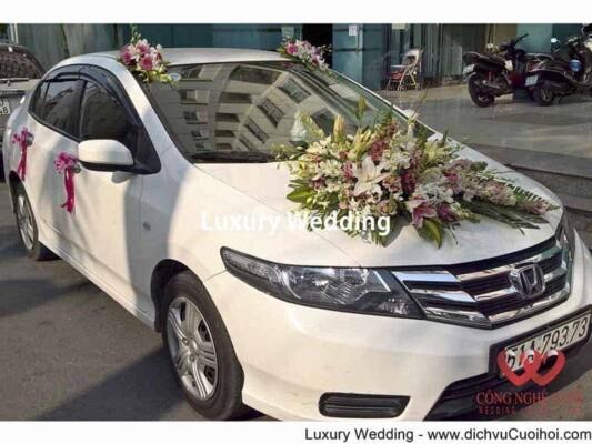 Cho thuê xe cưới - Honda Citi