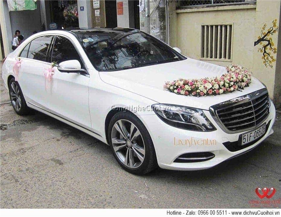 Cho thuê xe cưới - Mercedes S500