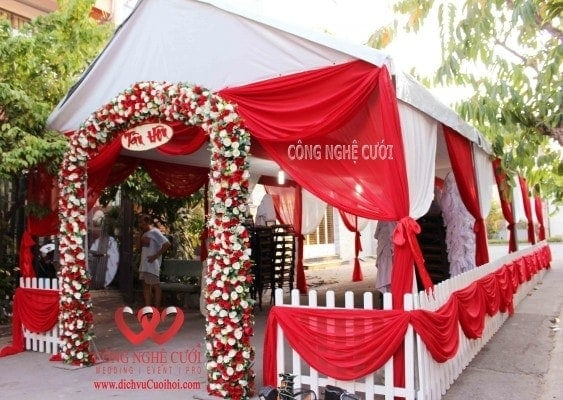 Nha bat khung rap tổ chức đám cưới và tổ chức sự kiện