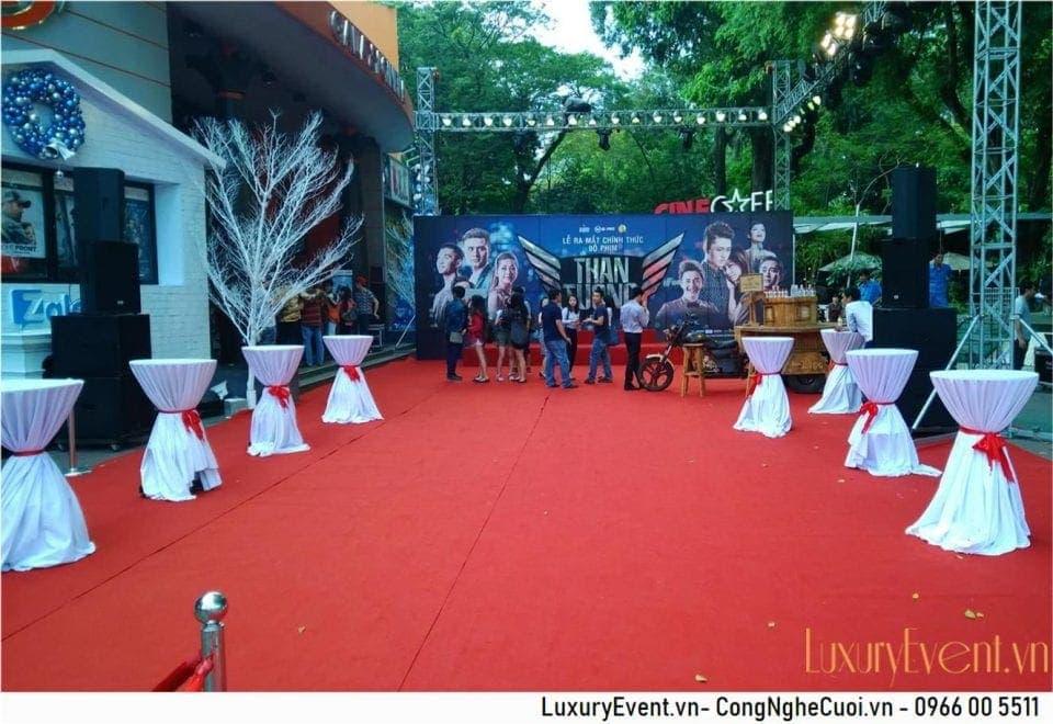 Tổ chức sự kiện lễ ra mắt phim