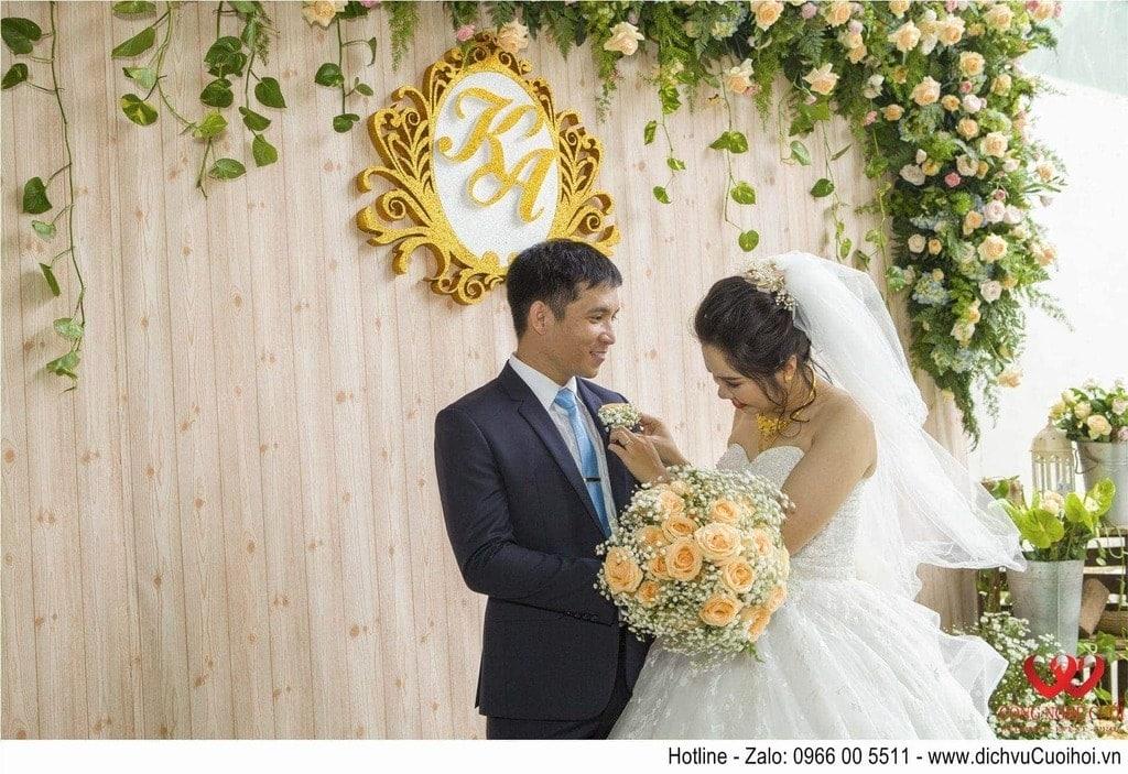 Backdrop chụp ảnh đám cưới đẹp