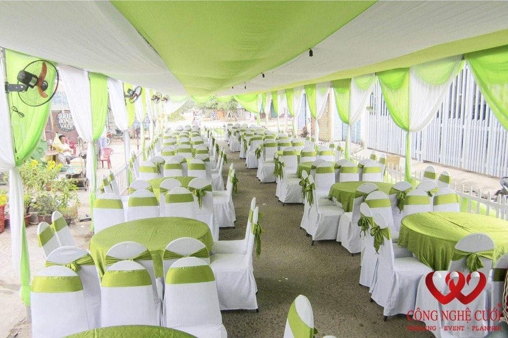 Cho thuê nhà bạt đám cưới đẹp
